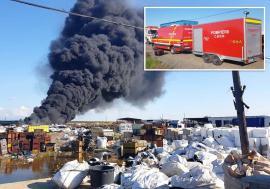 Arşi la profit: Autorităţile habar nu au cât de gravă a fost poluarea după incendiile depozitului de deșeuri din Nojorid