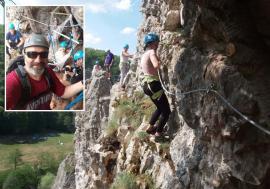 Vremea aventurii: Iubitorii muntelui, provocaţi la trasee de via ferrata, să facă rafting pe Crişul Repede și să viziteze peșteri unice în Bihor (FOTO)