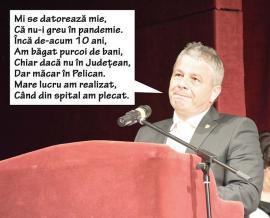 Bodog cel pozitiv: Fostul ministru PSD al Sănătăţii laudă medicii şi spitalele din Oradea