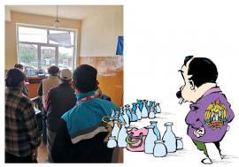 Gunoi cu coadă: Bihorenii din Salonta au aşteptat şi două ore la rând pentru a semna noile de contracte de salubrizare, cu AVE