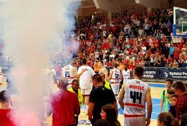 La o victorie de finală. CSM CSU Oradea a câștigat primul meci de acasă cu U BT Cluj-Napoca