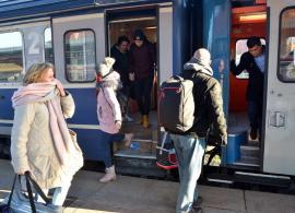 Trenule, maşină mică: Locuitorii din zona Marghita au rămas fără legătură feroviară cu Oradea