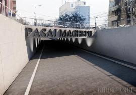 Pasajul subteran de sub Bulevardul Magheru va fi amenajat de constructorul Podului Centenarului