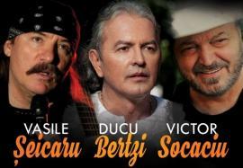 Unde ieșim săptămâna asta: Concert cu Vasile Şeicaru, Ducu Bertzi și Victor Socaciu