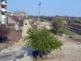 Drumul din strada Martin Andersen Nexo, de lângă Podul Teodor Neș din Oradea, prinde contur (FOTO / VIDEO)