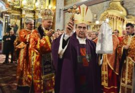 25 de ani de episcopat ai Preasfinţitului Virgil Bercea: Nunţiul Apostolic vine duminică la Oradea