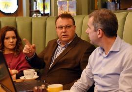 Condamnat pentru corupție, directorul demisionar al Termoficare Oradea, Stănel Necula, spune că rămâne orădean