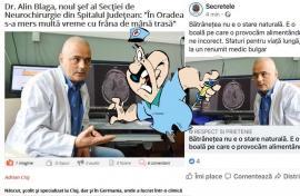 Bulgarul de la Judeţean: Cum a ajuns subiect de fake news un reputat neurochirurg din Oradea (FOTO)