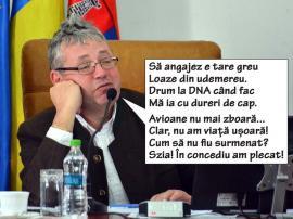 Prea Obositul Păstor: Preşedintele Consiliului Judeţean a plecat din nou în concediu