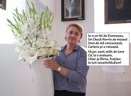 Angela forever: Directoarea Lupșea a luat concursul cu dedicație cu note de premiant