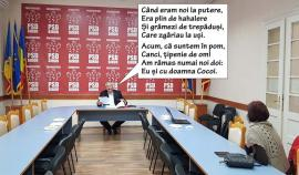Singur-singurel: Deputatul PSD Ioan Sorin Roman a ajuns să ţină conferinţe de presă cu un singur jurnalist