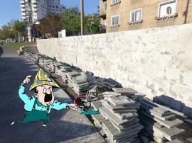 La loc comanda! Constructorii din Oradea au dat-o în bară cu pietruirea malului Crișului