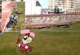 Semne de surpare: Probleme într-una din zonele reabilitate din Cetatea Oradea(FOTO)