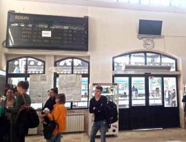 Gara tăcerii: Mersul Trenurilor stă în loc în Gara Centrală din Oradea