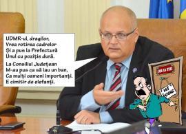Statul paralel al UDMR: Fostul subprefect Iulius Delorean s-a ales cu jobul celui care i-a luat locul!