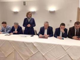 Respect pentru tovarăşa: Cum a fost primită ministra Carmen Dan de PSD-iştii din Bihor
