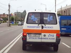 Ambulanţă bolnavă: Greşeli de ortografie pe autospeciale de la Ambulanţă