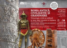 Expoziție în premieră națională: Muzeul Ţării Crişurilor ne invită în Roma Antică
