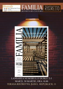 """Noul număr al revistei """"Familia"""" va fi lansat pe Corso"""