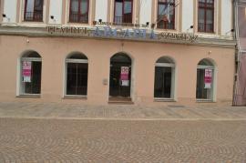 """""""Adoptă o clădire"""": Clubul Rotary Oradea Art Nouveau şi actorul Sebi Lupu fac chetă pentru a repara holul Teatrului Arcadia"""