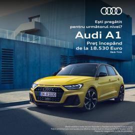 Noul Audi A1 poate fi al tău!