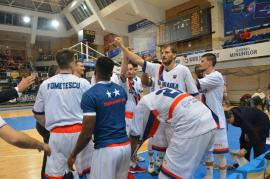 CSM CSU Oradea a învins cu 82-76 echipa din Piteşti şi a încheiat prima fază a Ligii Naţionale pe locul IV (FOTO)