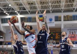 'Roş-albaştrii' orădeni joacă miercuri în Belarus ultimul meci din grupa J a FIBA Europe Cup