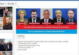"""#hoţii: Deputaţii PSD şi UDMR Bihor, puşi la """"colţul ruşinii"""" de USR-istul Silviu Dehelean după ce au votat legile ce slăbesc independenţa justiţiei"""