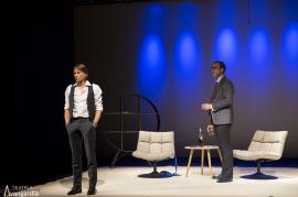 Demnitate: Marius Manole şi Şerban Pavlu într-un spectacol răvăşitor la Oradea