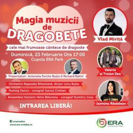 Vino la ERA Park Oradea, să simți... Magia muzicii de Dragobete!