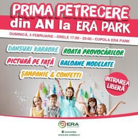 Invitaţie la distracţie: Duminică e prima petrecere din an la ERA Park Oradea!