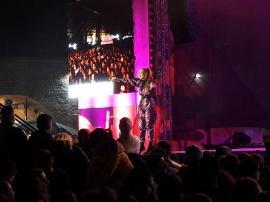 Elena Gheorghe, Damian Drăghici & Brothers și mâncare pentru toți pofticioșii, vineri seară, la Toamna Orădeană (FOTO / VIDEO)
