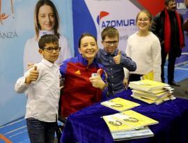 'En Garde': Campioana olimpică Ana-Maria Brânză îşi va lansa cartea scrisă pentru copii la şcoala din Diosig