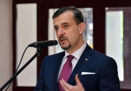 Ambasadorul George Bologan, la Sânmartin: 'Vizita Papei Francisc este probabil cea mai puternică ofensivă de imagine a României în lume' (FOTO)
