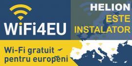 #HELIONeste instalator autorizat#WiFi4EUîn 12 judeţe