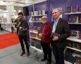 """Lansări de volume şi cărţi premiate ale """"familiştilor"""" orădeni"""