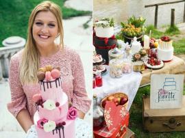 La mulţi ani cu delicii! Janette Cakes, business-ul pornit de o tânără orădeancă de 23 de ani, aniversează un an de la înfiinţare (FOTO)