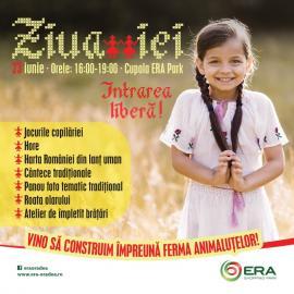 ERA Park Oradea sărbătorește românește.Vino și tu, duminică, la Ziua Iei!