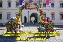 Primăria Municipiului Oradea vă urează Sărbători fericite, cu sănătate și bucurii!