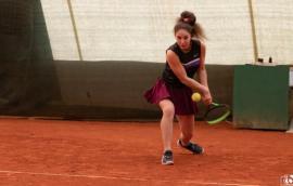 Orădeanca Patricia Goina, pe podium la turneul de tenis Transilvania Masters (FOTO)