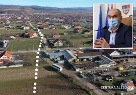 Cu opoziţia PSD, Consiliul Judeţean a decis ca centura Aleşdului să treacă pe câteva sute de metri printr-un cartier de case (FOTO)