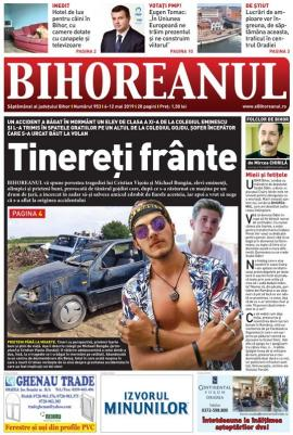 Nu ratați noul BIHOREANUL tipărit: Povestea tragică a accidentului de la Ginta, o aventură adolescentină care a provocat moartea unui elev de excepție