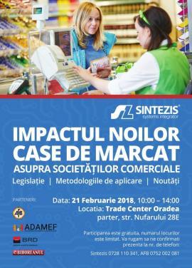 """Puneţi-vă la punct cu noutăţile din domeniul fiscal! Seminar """"Impactul noilor case de marcat asupra societăţilor comerciale"""""""