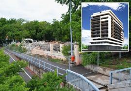 Clădirea restaurantului Vandana a fost demolată pentru a face loc unui bloc turn. Vezi cum va arăta! (FOTO)