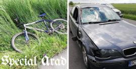 Trei biciclişti accidentați, într-o jumătate de oră, în Arad. Unul dintre ei a fost decapitat. Avea 11 copii