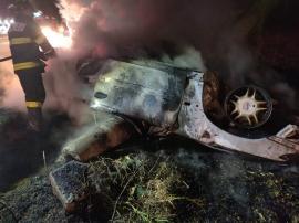 Accident groaznic, în Arad: Un pompier şi un angajat al Companiei de Apă au murit carbonizaţi (FOTO)