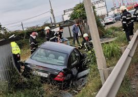 Un orădean de 18 ani, în stare gravă după un accident pe Centură. Mobilizare masivă pentru donare de sânge (FOTO)