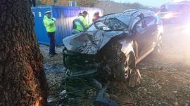 Ne enervează: Porţiunea de pe DN 76 unde a avut loc accidentul mortal este pericol public