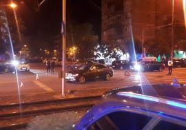 Accident în cartierul Nufărul: Şoferul unui Mercedes nu a oprit la trecerea de pietoni, un tânăr din Sântandrei a ajuns la spital