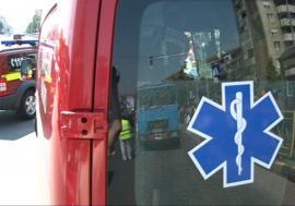 Accident în lanţ la Oradea. O femeie a fost rănită